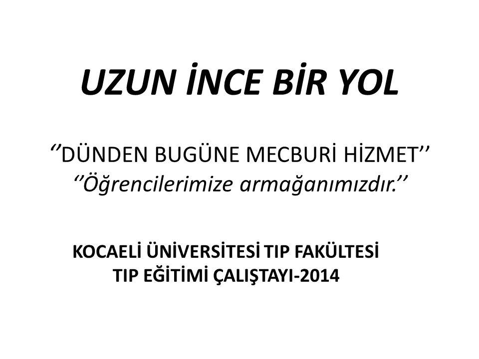 Ankara Üniversitesi Tıp Fakültesi 1977- 1.sınıf
