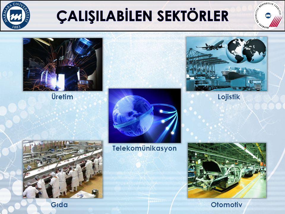 Telekomünikasyon Gıda Lojistik Üretim Otomotiv