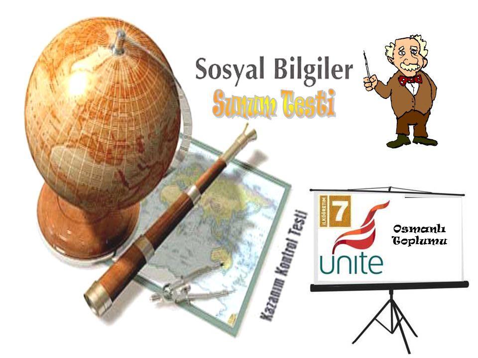 Osmanlı Toplumu yerleşim durumuna göre Osmanlı Toplumu yerleşim durumuna göre kaça ayrılır ? Osmanlı Toplumu Ş ehirliler Köylüler Göçebeler Daha çok s