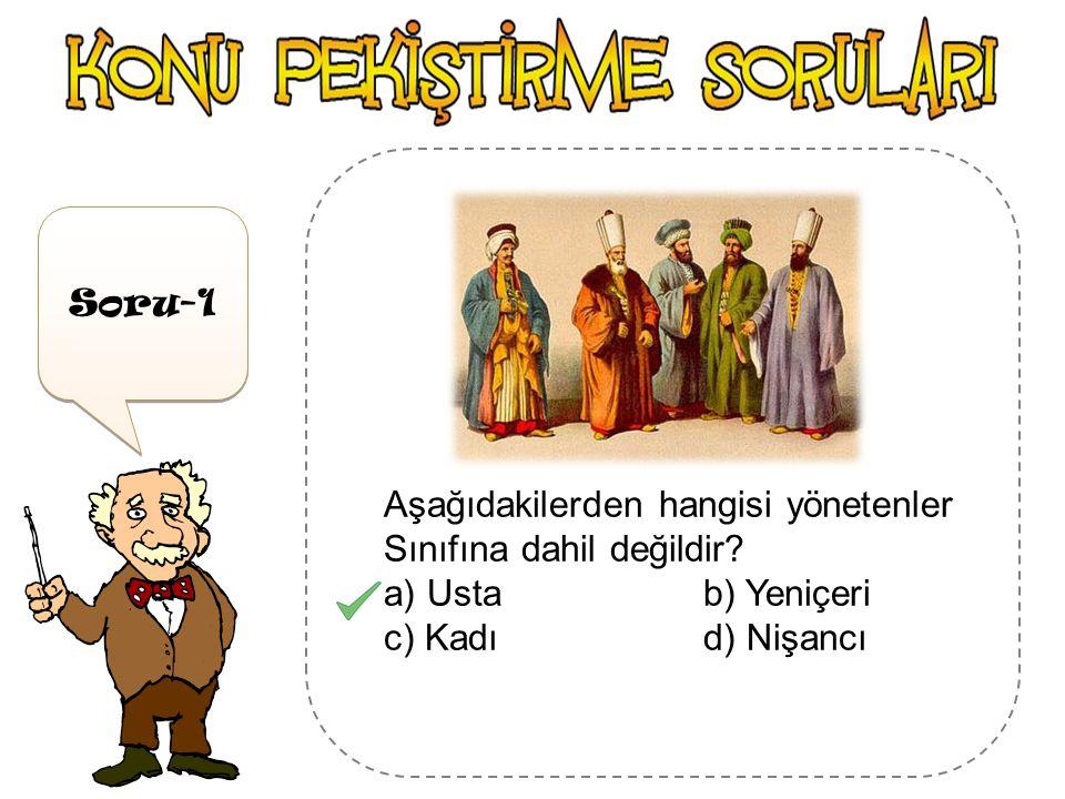 Osmanlı Toplumu