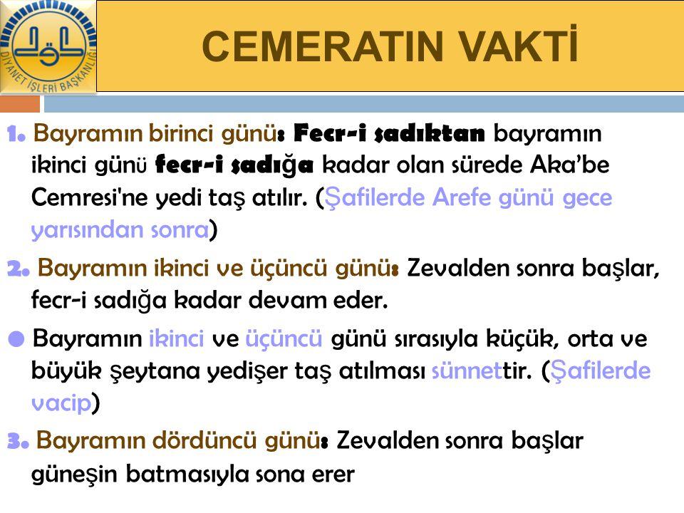 CEMERATIN VAKTİ 1.
