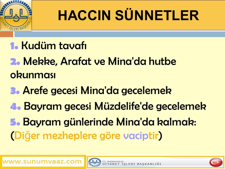 ŞEYTAN TAŞLAMANIN MEKRUHLARI 1.
