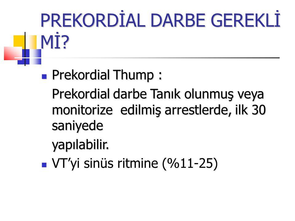 PREKORDİAL DARBE GEREKLİ Mİ.