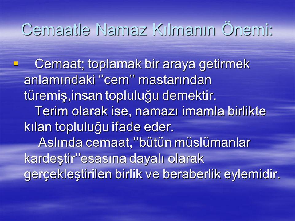 Ezan, bir tek olan Allah'a, rahmet Peygamberi Muhammed(sav)'a, kötülüklerden ve hayatın monotonluğundan alıkoyan namaza ve bu temel esaslar ekseninde felaha (huzur ve mutluluğa) çağrıdır.