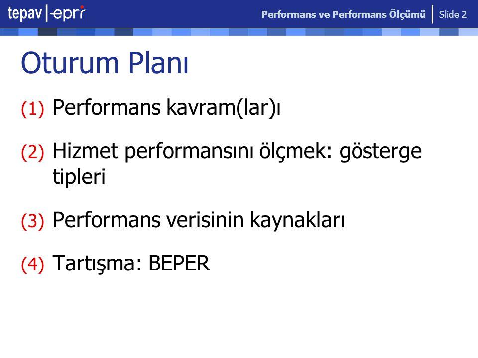 Performans ve Performans Ölçümü Slide 3 1.