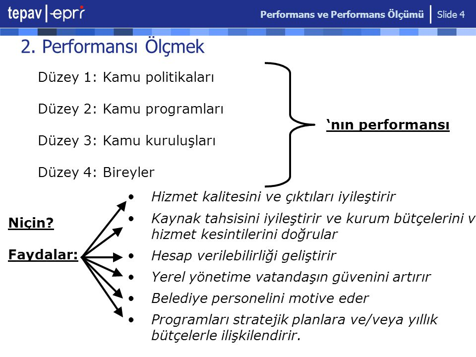 Performans ve Performans Ölçümü Slide 4 2.