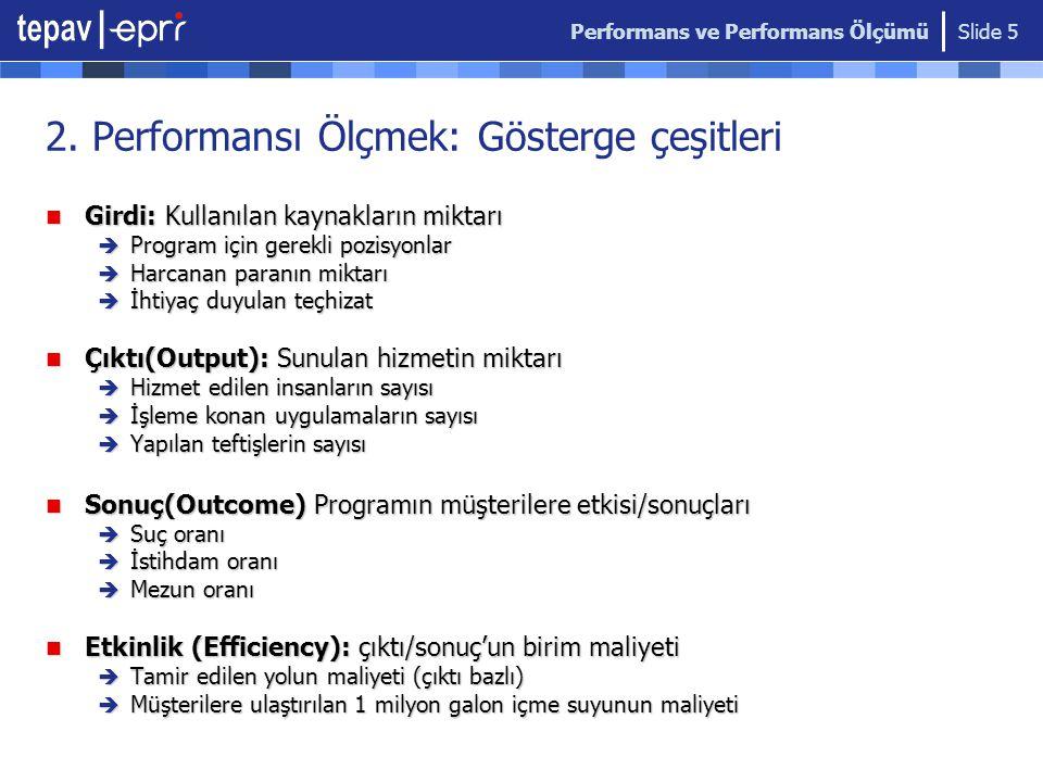 Performans ve Performans Ölçümü Slide 6 2.