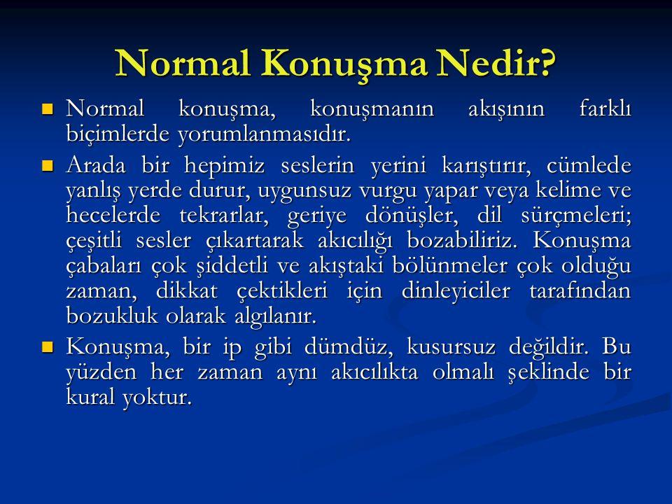 Normal Konuşma Nedir? Normal konuşma, konuşmanın akışının farklı biçimlerde yorumlanmasıdır. Normal konuşma, konuşmanın akışının farklı biçimlerde yor