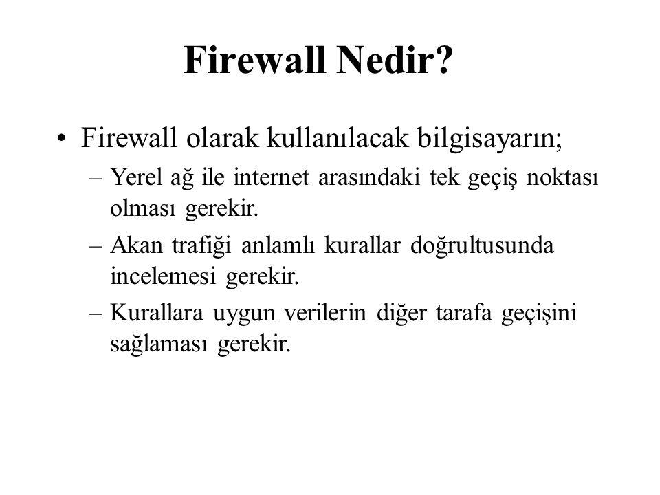 Firewall Nedir.