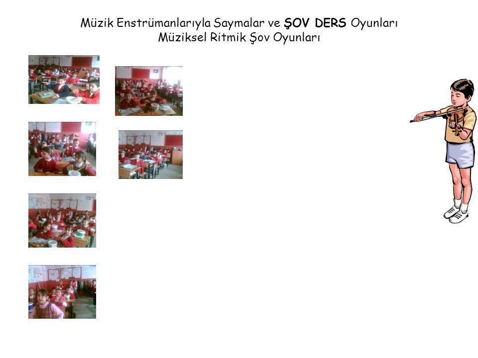 Müzik Enstrümanlarıyla Saymalar ve ŞOV DERS Oyunları Müziksel Ritmik Şov Oyunları