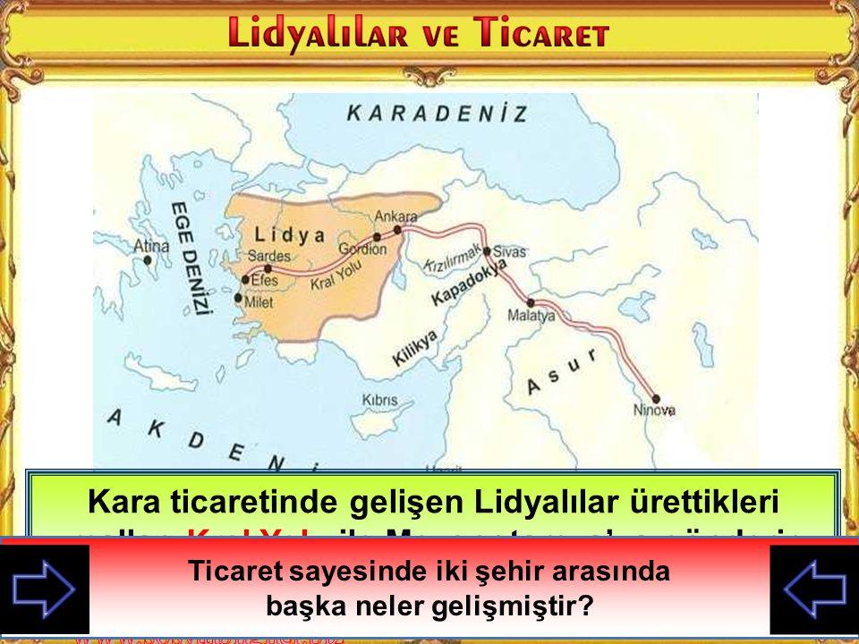 Ege kıyılarında Menderes ve Gediz ırmakları arasında kurulan ve Persler tarafından yıkılan medeniyettir Ege kıyılarında Menderes ve Gediz ırmakları ar