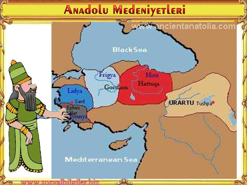 Anadolu'da kurulan ilk medeniyetler hangileridir?