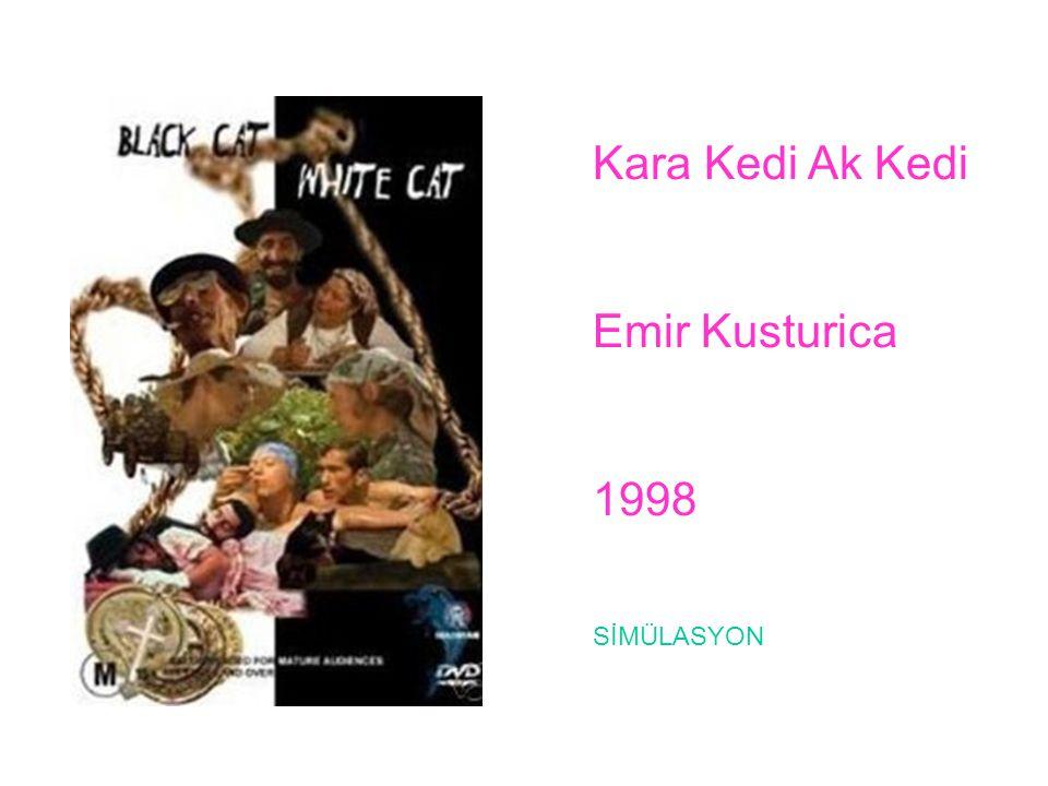 Kara Kedi Ak Kedi Emir Kusturica 1998 SİMÜLASYON