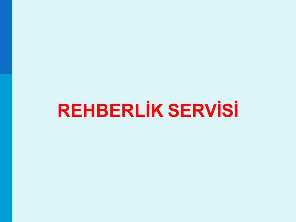 60 REHBERLİK SERVİSİ