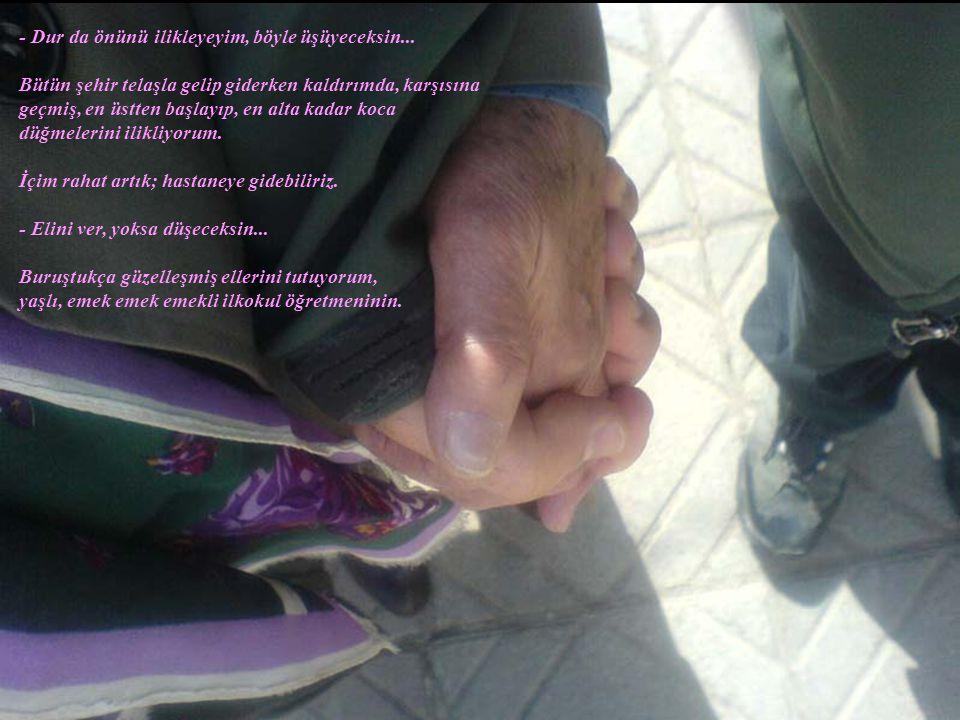 12.03.2009 Bir Mart sabahı; Kızılay'a yürürken.