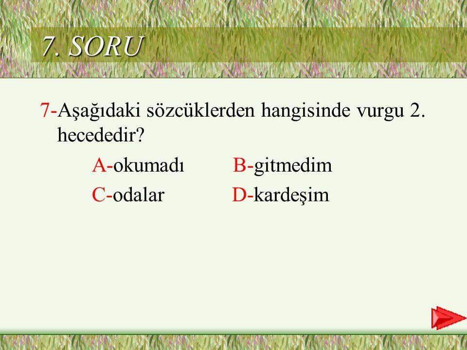 C Cevap 6