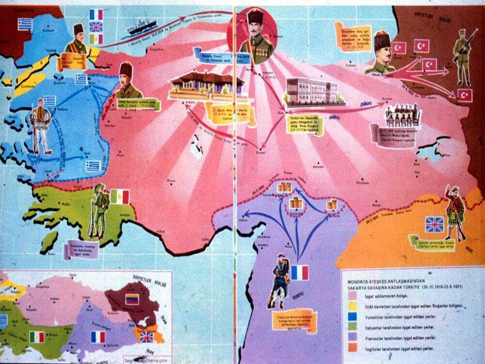  KUVA-Yİ MİLLİYE İlk kez Yunan işgaline karşı Batı Anadolu'da kurulmuştur.