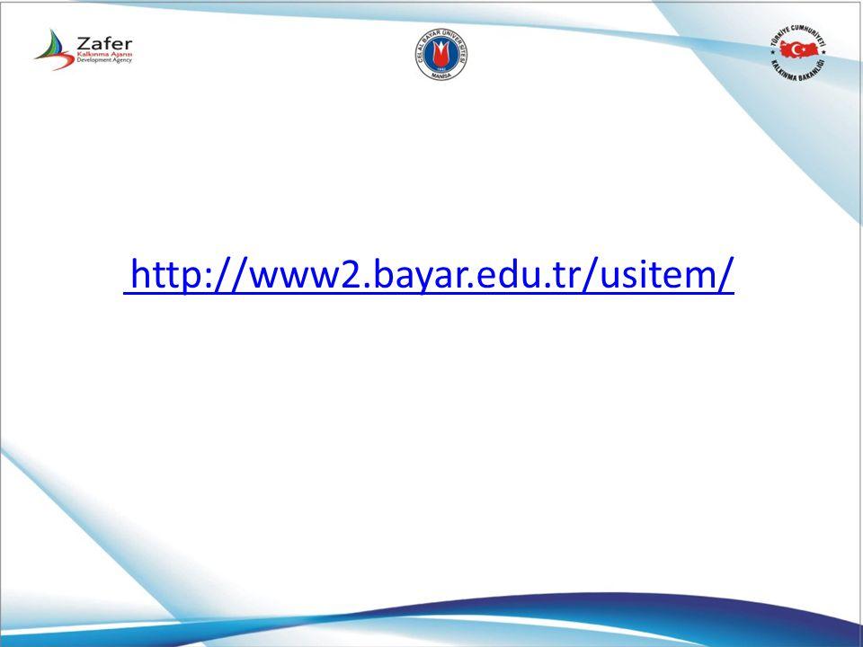 http://www2.bayar.edu.tr/usitem/