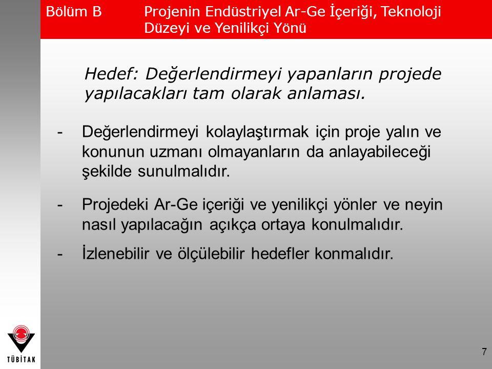 Proje ilgili komitede değerlendirilirken, kuruluşun hazırladığı özetler olduğu şekliyle kullanılmaktadır.
