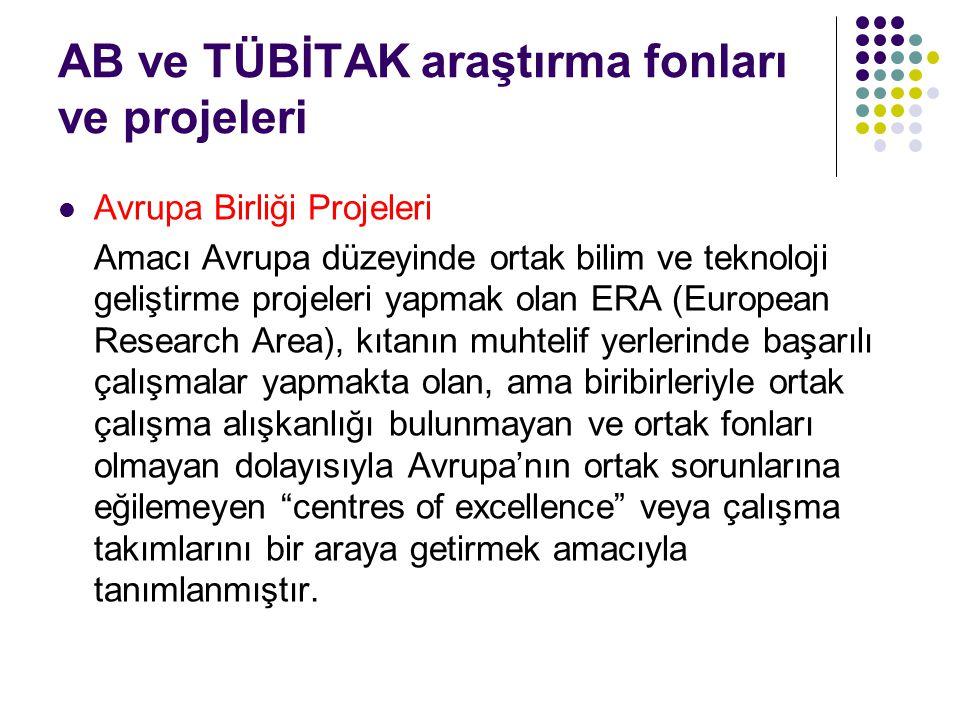 Türkiye, Romanya, Bulgaristan gibi centre of excellence denebilecek araştırma merkezleri bulunmayan ülkeler için de özel bir fon oluşturup, kendisini bu şekilde kanıtlayacak ilk 20 merkeze özel bir proje açtılar.