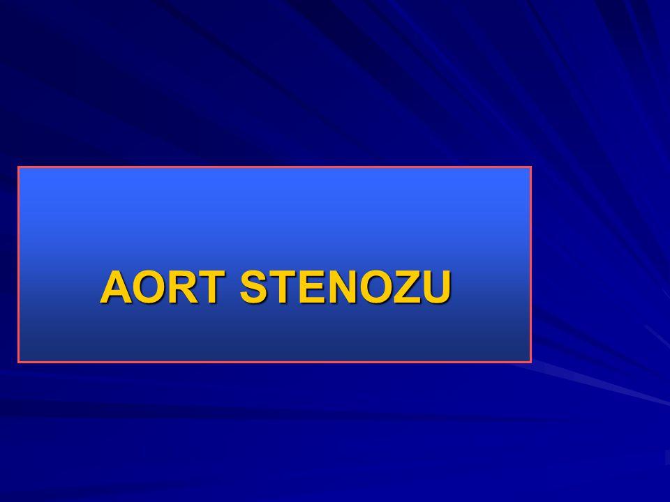 AORT STENOZU AORT STENOZU