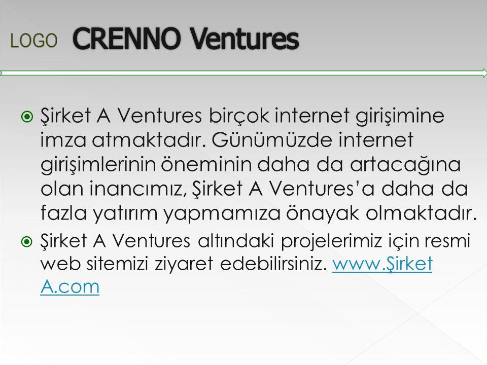  Şirket A Ventures birçok internet girişimine imza atmaktadır. Günümüzde internet girişimlerinin öneminin daha da artacağına olan inancımız, Şirket A