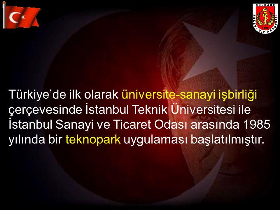 Türkiye'de ilk olarak üniversite-sanayi işbirliği çerçevesinde İstanbul Teknik Üniversitesi ile İstanbul Sanayi ve Ticaret Odası arasında 1985 yılında