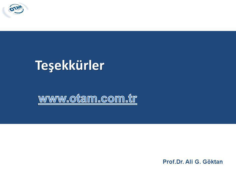 Prof.Dr. Ali G. Göktan