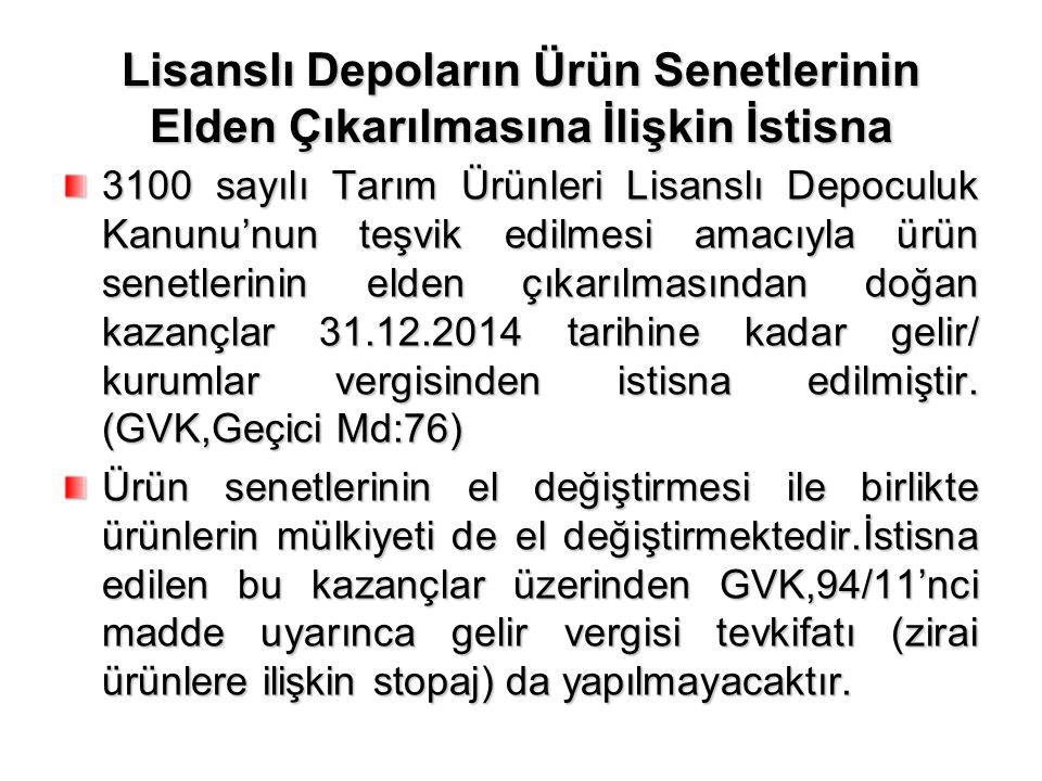 Yabancı Fon Kazançlarına İlişkin İstisna İstanbul'da finans merkezi kurulması projesi çerçevesinde 6322 sayılı kanun ile KVK'nuna eklenen 5/A maddesinde, yabancı fon kazançları» belli koşullarda kurumlar vergisinden istisna tutulmuştur.