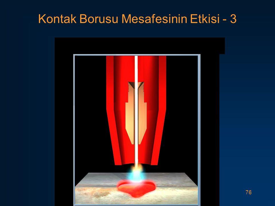 76 Kontak Borusu Mesafesinin Etkisi - 3