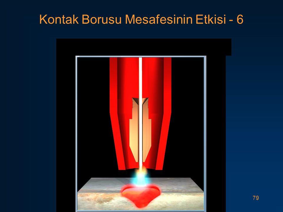 79 Kontak Borusu Mesafesinin Etkisi - 6