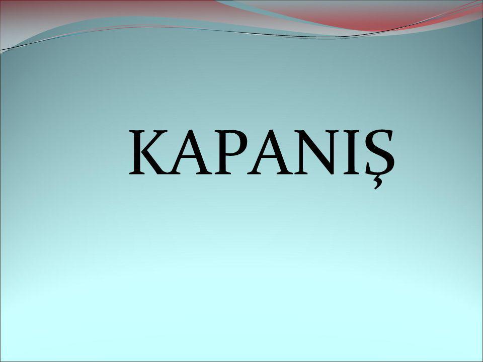 KAPANIŞ