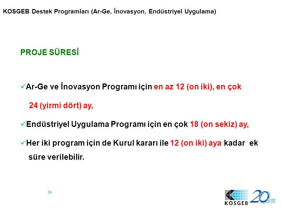 35 5 : Girişimcilik Destek Programı