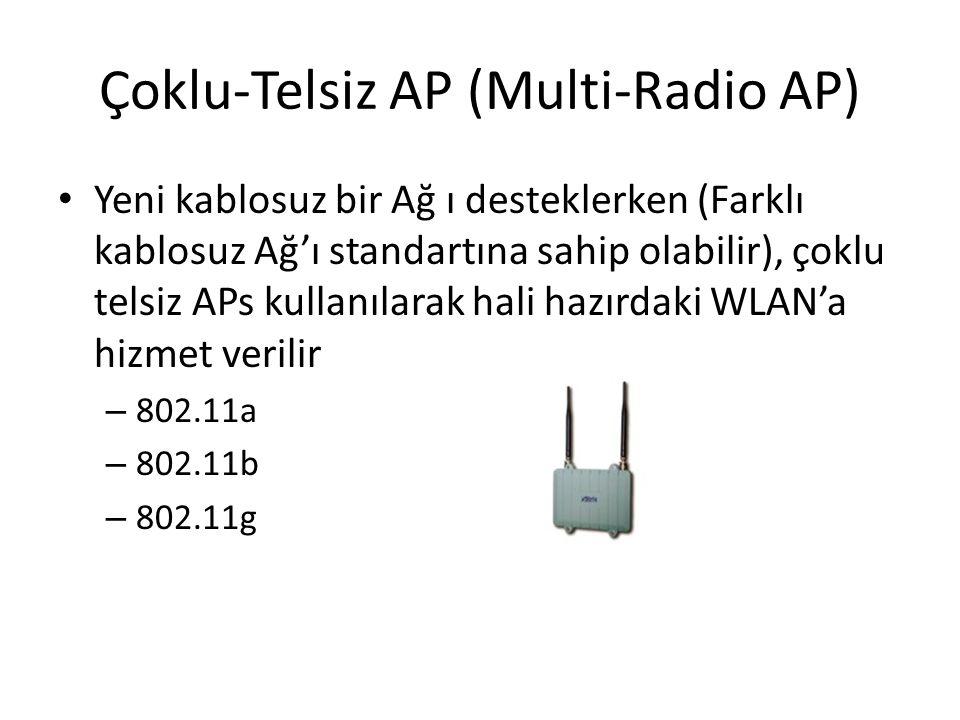 Çoklu-Telsiz AP (Multi-Radio AP) Yeni kablosuz bir Ağ ı desteklerken (Farklı kablosuz Ağ'ı standartına sahip olabilir), çoklu telsiz APs kullanılarak
