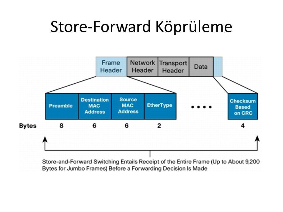 Store-Forward Köprüleme