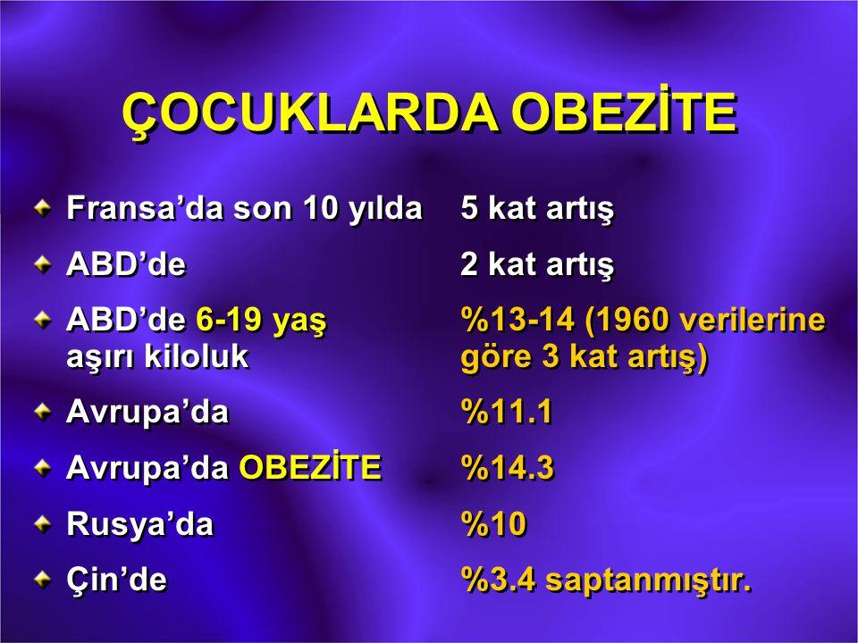 LEPTİN Leptos (ince, zayıf) (Yunanca) Ob gen ürünü olan leptin, 1994 yılında Friedman ve ark.