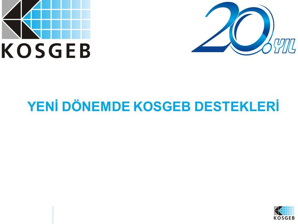 2 KAPSAM: 1.Türkiye'de KOBİ'ler Hakkında Genel Bilgi 2.Yeni KOSGEB Destek Sistemi 3.Yeni KOSGEB Destek Programları