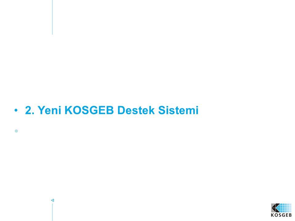 8 2. Yeni KOSGEB Destek Sistemi