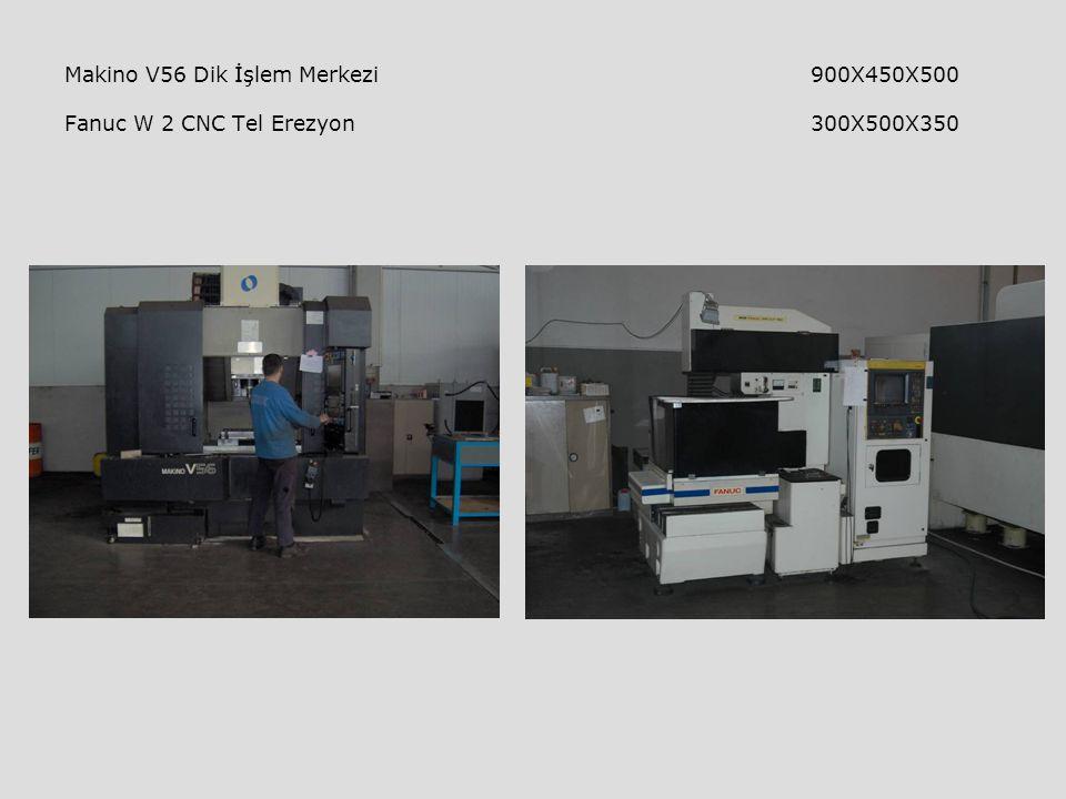 Makino V56 Dik İşlem Merkezi 900X450X500 Fanuc W 2 CNC Tel Erezyon 300X500X350