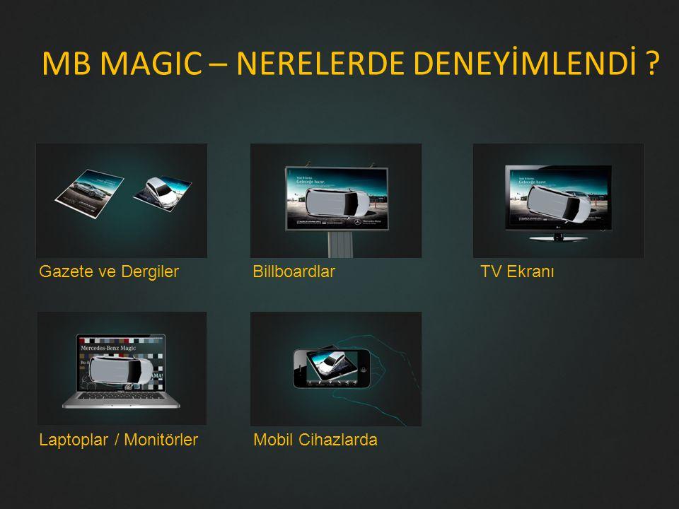 MB MAGIC – NERELERDE DENEYİMLENDİ .