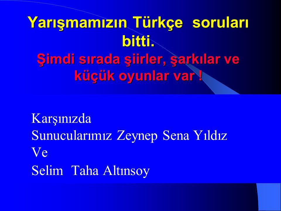 10. Soru Hangi cümlede özel adın yazımında yazım yanlışlığı yapılmıştır? A ) Nazlı Hanım Ankara'dan dün geldi. B ) Cuma'lar Elazığ'dan İstanbul'a gide