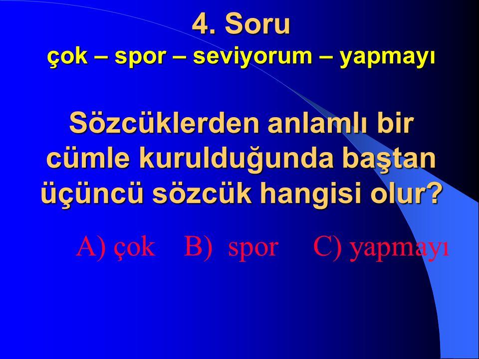 2. Soru 3 – 5 – 8 – 12 – 17 –... Örüntü aşağıdaki hangi sayı ile devam eder? A) 23 B) 24 C) 25
