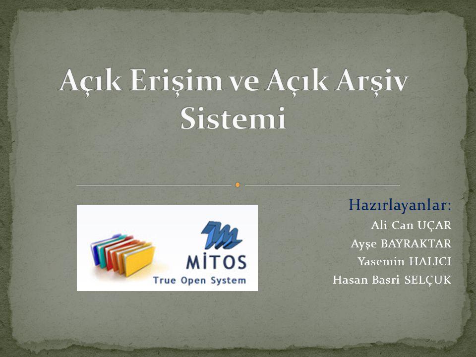Araştırmamızda şu sonuçlar elde edilmiştir; - Öğretim elemanlarının Atatürk Üniversitesi, Açık Arşiv Sistemine yabancı olması, - Atatürk Üniversitesi Açık Arşiv Sistemi ile ilgili yapılan toplantılar ve seminerlere öğretim elemanlarından katılanların sayıca az olması, - Öğretim elemanlarının birçoğunun ilk olarak elektronik kaynaklardan faydalanıyor olması, - Öğretim elemanlarının araştırmalarında ilk başvuru kaynağı olarak daha çok veri tabanlarından yararlanması, açık arşiv sistemini tanımıyor olması