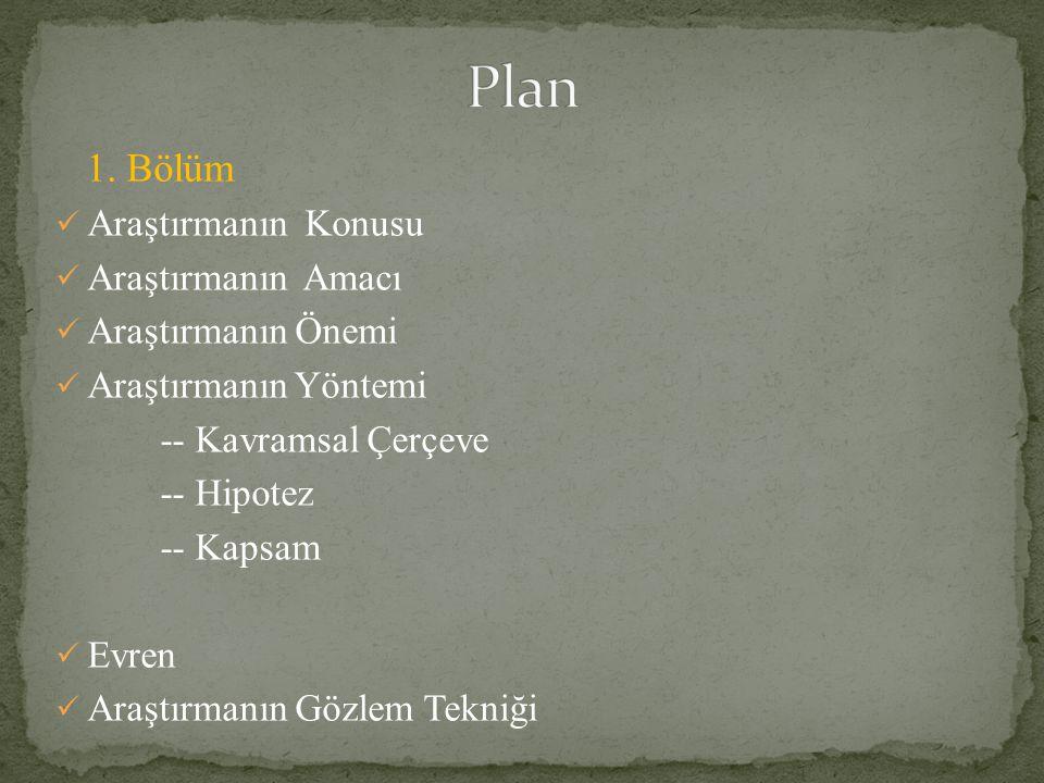Toplam Basılı Kaynaklar Elektronik Kaynaklar Arş.Gör.