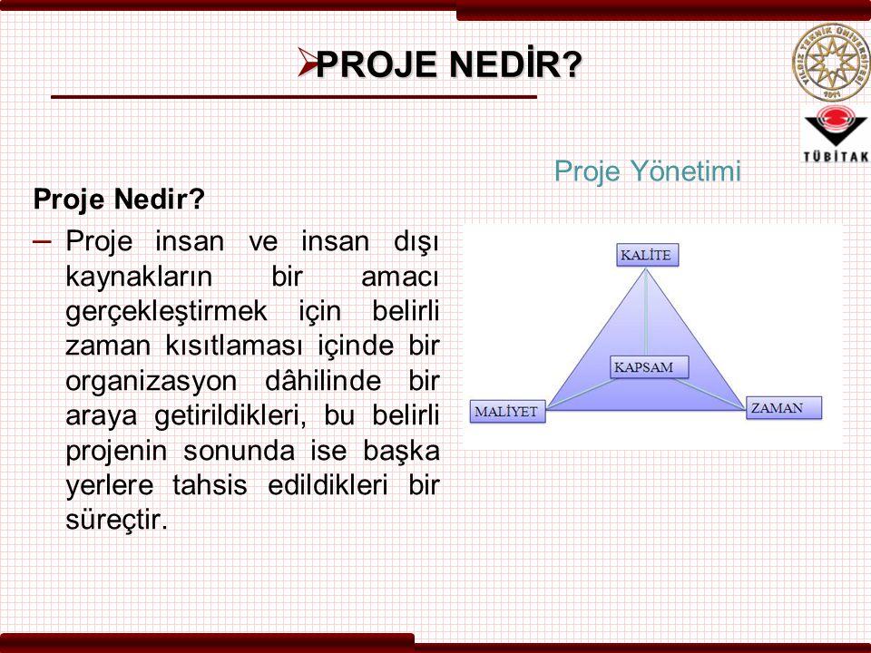 Projenin Amacı  Projenin amacı; Yapım Kesiminde Başarım Değerlendirme ve Kıyaslama ( DEK ) Sistemi nin geliştirilmesidir.