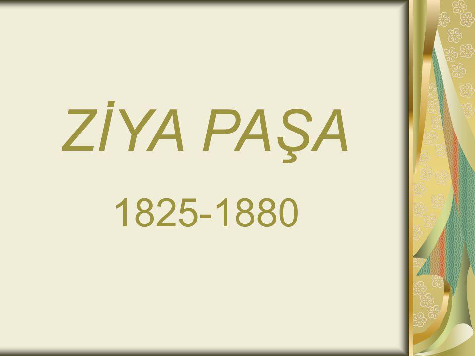 Eserleri Zafername (1868, düzyazı şiir) Rüya (ölümünden sonra, 1910) Veraset Mektupları (ölümünden sonra 1910) Eş ar-ı Ziyâ (ölümünden sonra şiir, 1881) Şiir ve İnşa Makalesi Defteri Amal (anı niteliğinde)