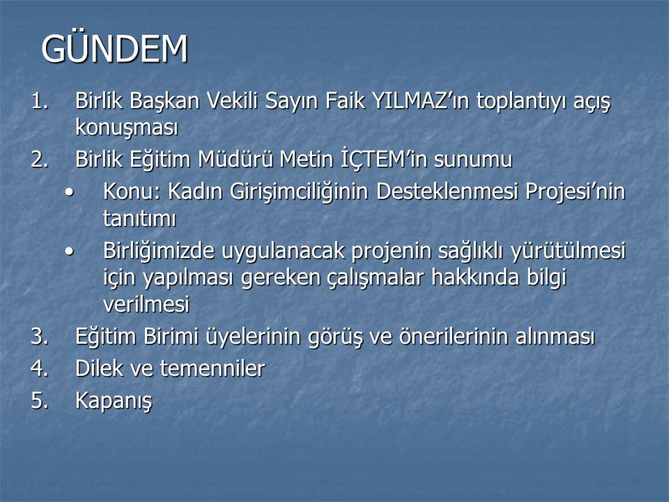 Verilecek Eğitim ve Danışmanlık Hizmetleri  Projenin odak noktası eğitim ve danışmanlıktır.