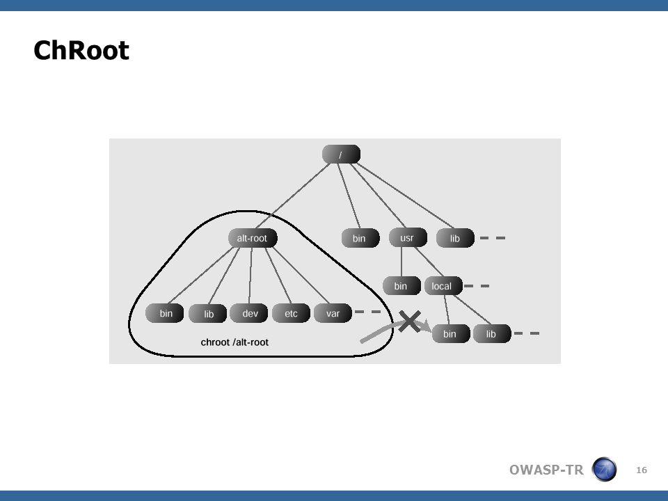OWASP-TR 16 ChRoot