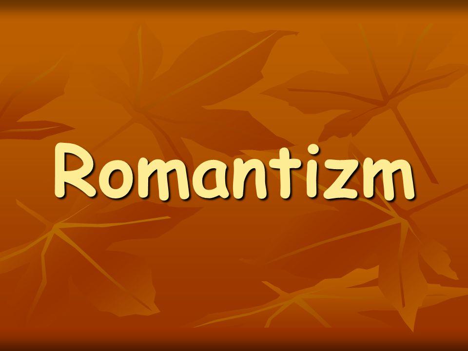 Romantizm Çelişmelere düşen Romantizm (halka inen sadelikle aşırı bireycilik; tutucu eğilimlerle devrimci düşünceler; lirizmle karamsarlık ve alay; dindarlık ve gurur; coşku ile umutsuzluk) önceleri sağduyu ve kuru mantığa karşı bir tepki iken kendisini yaratan burjuva düzeninin hayatını güzelleştirmek zorunluluğunu yüklendi.