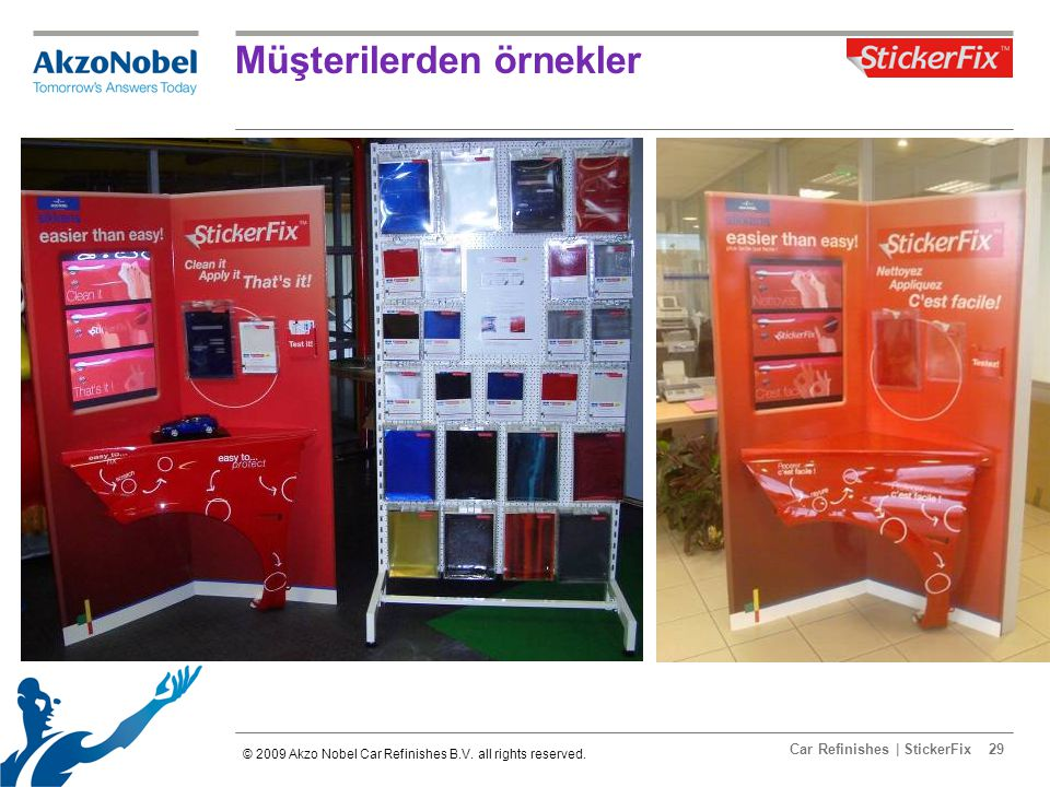 Car Refinishes | StickerFix29 Müşterilerden örnekler © 2009 Akzo Nobel Car Refinishes B.V.